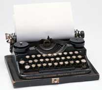 Mitos introducidos por la máquina de escribir